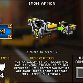 Light Iron Armor.