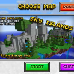 The multiplayer icon for Sky Islands.
