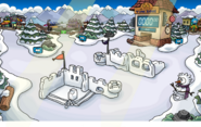 Winter Party Snow Forts