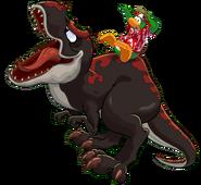 SL prehistoric rookie on dino