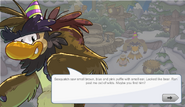 Sasquatch Puffle party dialogue 1