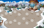 Snowing Snow Forts Winter Party