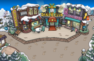 Winter Party Melted town