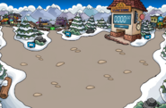 Melted Snow Forts
