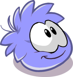 Lavender Puffle2