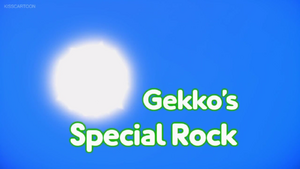 Gekko's Special Rock card