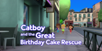 Catboy and the Great Birthday Cake Rescue