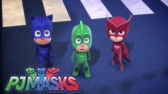 PJ Masks S01E08 Catboy and the Great Birthday Cake Rescue Gekko and the Snore-A-Sauras