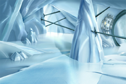 CGI Knowledge Tower Interior