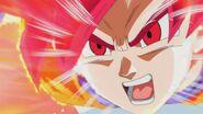 Son Gokū Super Saiyanin God (10)
