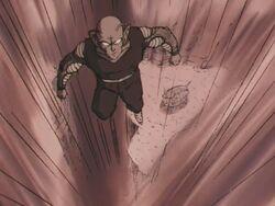 Mega Piccolo odlatujący z płaskowyżu Yunzabit.JPG
