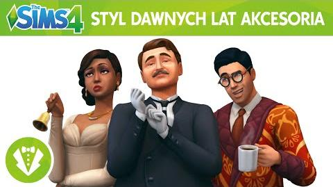 The Sims 4 Styl dawnych lat Akcesoria oficjalny zwiastun