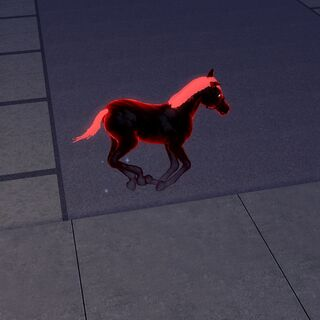 Duch konia w The Sims 3.