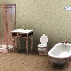 Meble łazienkowe.