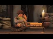 Średniowiecze chłopiec