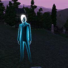 Duch Sima, który utonął w basenie