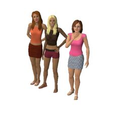 Caliente household (The Sims 3)
