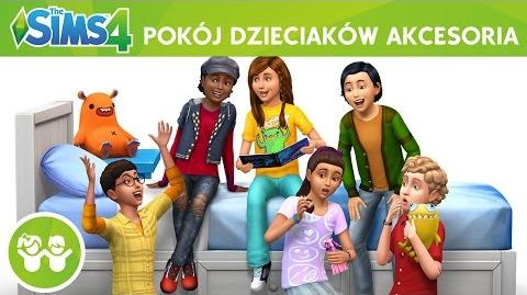 The Sims 4 Pokój dzieciaków Akcesoria oficjalny zwiastun