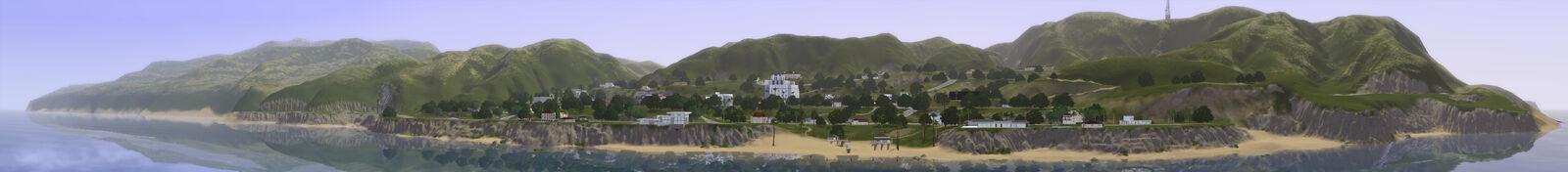 Starlight panorama