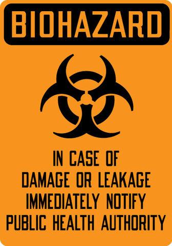 File:Biohazard Damage Leakage Notify Public Health Authority HH17 OSHA.jpg