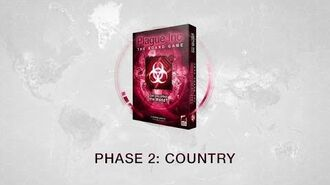 Phase 2 The Country Phase for Plague Inc The Board Game