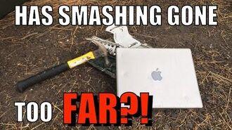 Bored Smashing - MacBook?!