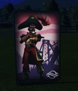 Wall Poster 04 - Captain Lockjaw at night