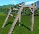 Wood Frame Angled
