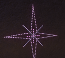 Festive Sign - Wall Sign Star 2 Lit
