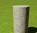 Castle Round Slim Tower 4m