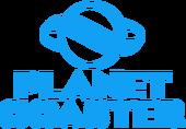 Planet Coaster logo blue