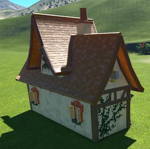 Village Shop 01 - Small back side