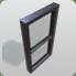Window Rectangle Black icon