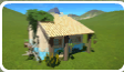 Caribbean Small House icon