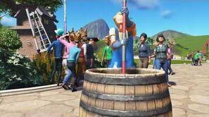 Planet Coaster Gamescom 2016 - Janitor