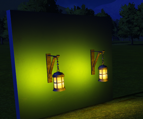 Light - Storm Lantern lit