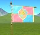 Kingdom Flag - Coat of Arms