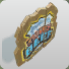 Chief Beef Wooden Shield Sign icon