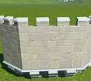 Castle Octagonal Wall Parapet Extension