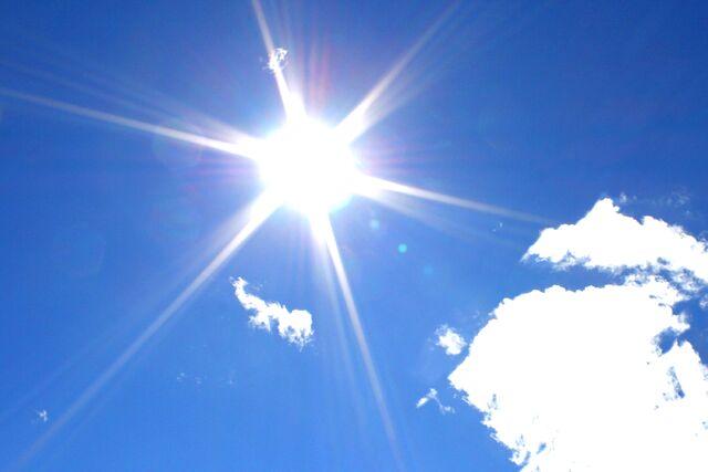 File:Sun-in-blue-sky.jpg