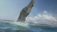 Pliosaurus-launched