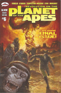 Revolution on the Planet of the Apes 6