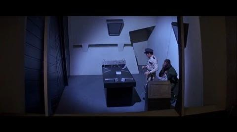 Conquest of the Planet of the Apes (1972) Caesar escapes and kills a guard