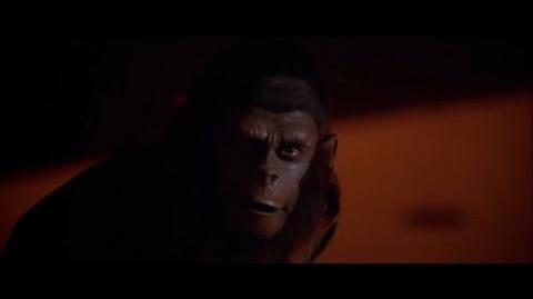"""Conquest of the Planet of the Apes (1972) Caesar's speech """"Where there is fire"""" part 5 5"""