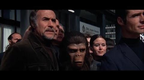 """Conquest of the Planet of the Apes (1972) """"Lousy human bastards!"""""""
