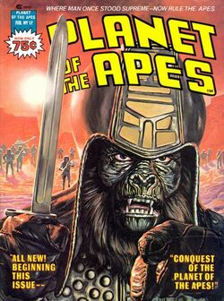 Planet of the Apes Magazine 17