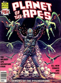 Planet of the Apes Magazine 19