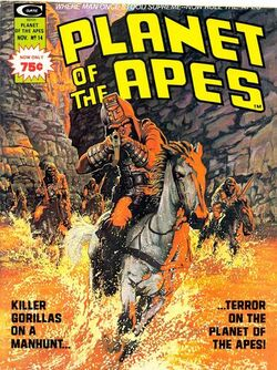 Planet of the Apes Magazine 14