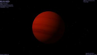 BD 20 2457 B planet