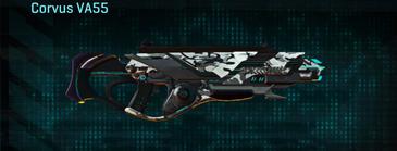 Forest greyscale assault rifle corvus va55